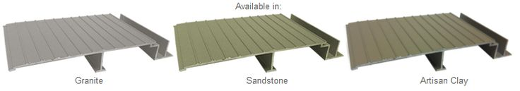 AridDek Aluminum Decking is available in three beautiful colors:   -Sandstone -Artisan Clay  -Granite  If you're a multifamily developer, you can choose from one of the colors that best suits your project needs!   To learn more about AridDek's colors and properties contact Wahoo Decks at 877-270-9387 or visit www.wahoodecks.com/contact.
