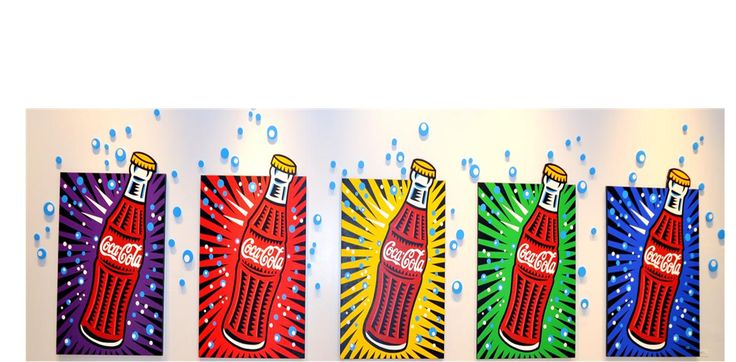 4th grade art projects | 4th grade finished their pop art study with the artist Burton Morris ...