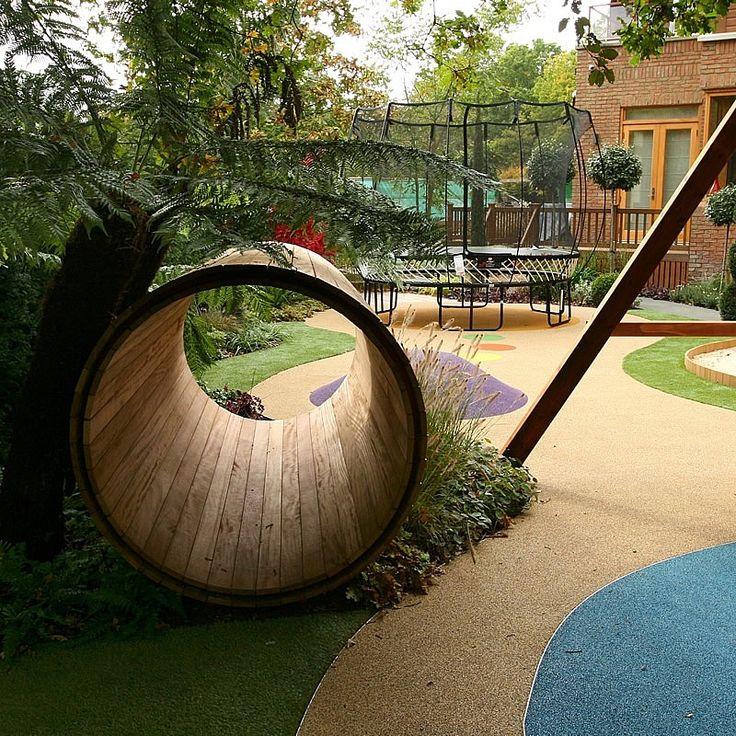 Childrens Play Area Garden Design