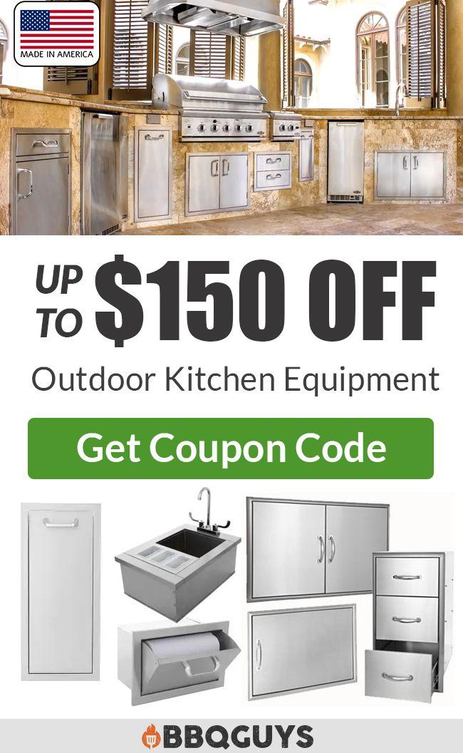 Save Up To 150 On Bbqguys Outdoor Kitchen Storage Diy Outdoor Kitchen Kitchen Design Kitchen Storage
