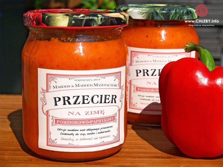 Pieczenie chleba i inne przepisy: Pomidorowo-paprykowy przecier do słoików na zimę