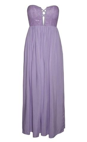 Kat Lilac Sequin Maxi Dress $74.95  www.littlepartydress.com.au