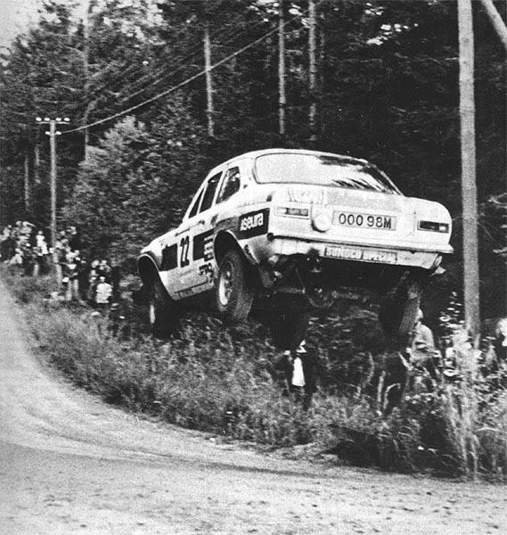 Ford Escort Rally (Leap day)