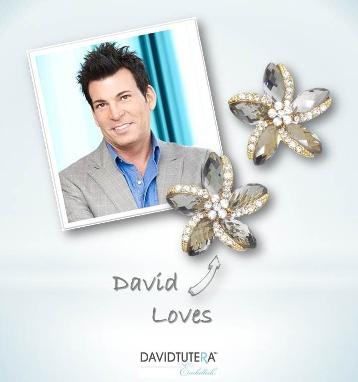 David Tutera The Party Planner's pick of the week are the Star Earrings!