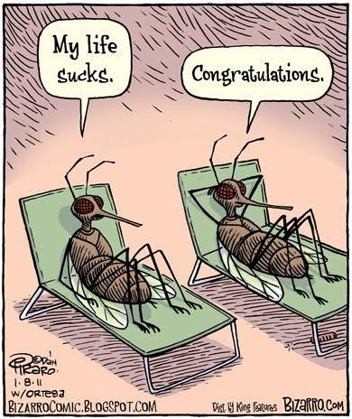 Clipart - Mosquito hazard