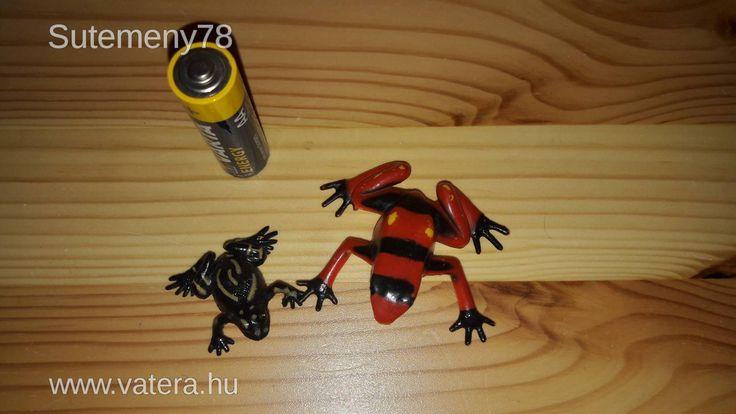 BS Játék - Béka figurák - 2 db béka - játékbéka - különleges békák - 400 Ft - Nézd meg Te is Vaterán - Játék-, és állatfigura - http://www.vatera.hu/item/view/?cod=2499780461