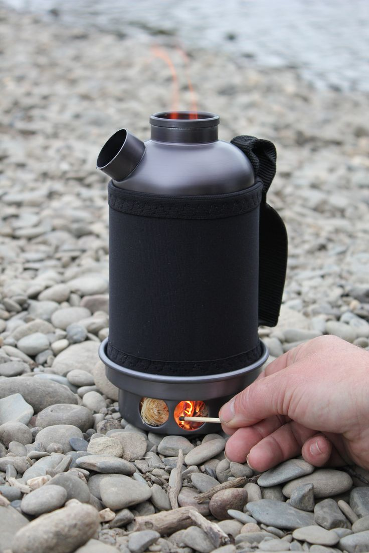 Very cool! #camping #coffee #stove