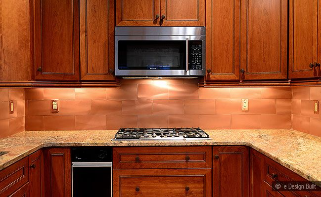 Dark Cherry Wood Kitchen Cabinets
