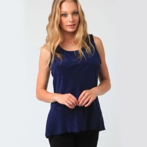 Buy Open Back Tank in Navy online now at The Stockroom Fashion Boutique. We ship internationally from our store in Auckland, New Zealand!