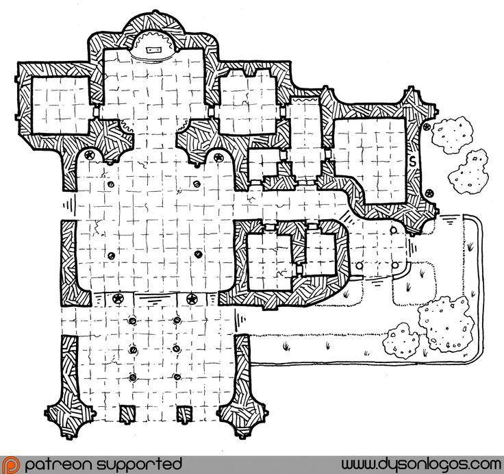131 best i love floor plans images on pinterest floor for Floor 2 dungeon map
