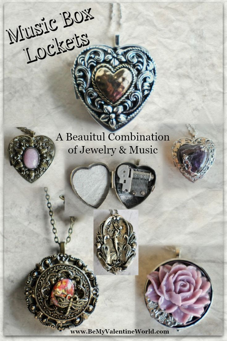 Music Box Lockets are beautiful and unique!  Select the music played from the available selection to make it a one of a kind gift.
