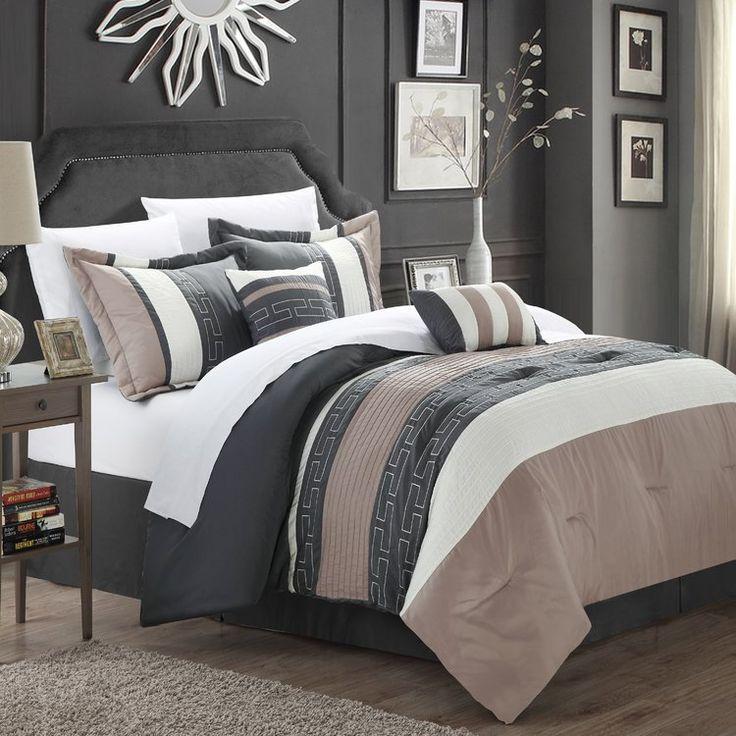 Luella 10 Piece Comforter Set Comforter Sets Bed Decor