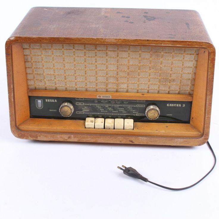Radiopřijímač Tesla 428A Gavota