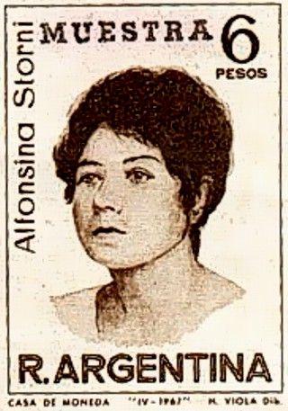 Alfonsina Storni, gran poetisa argentina del siglo XX, defensora de los derechos civiles de la mujer - Personalidades argentinas
