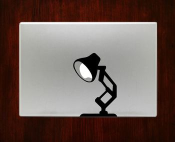 Pixar Lamp Decal Stickers For Sale Macbook Pro Air 11 / 13 / 15 / 17 inch Macbook Laptop. Available in all macbook sizes. 1. Easy application in minutes.2. High resolution, full detail precision cut.3                                                                                                                                                                                 More