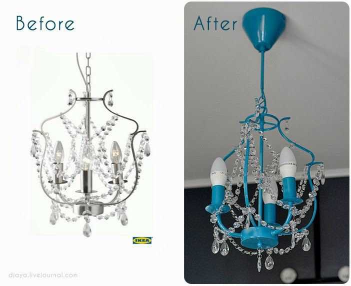Same chandelier from IKEA. we could add color by paint or just add a strand - Best 25+ Ikea Chandelier Ideas On Pinterest Girls Bedroom Ideas