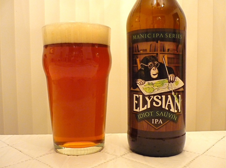 New Zealand is famous for its indigenous culture, spectacular landscapes (as seen on Lord of the Rings), and of course that crazy guy named Russell Crowe. However, amongst us beer nerds, New Zealand has certainly become popular for its hops. If you're not quite hip to the hops from our kiwi friends, you will be, once you enjoy the Elysian Idiot Sauvin IPA.