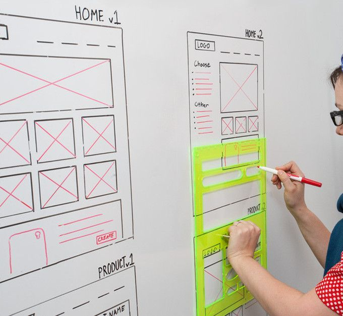 Very nifty idea for the glass whiteboard in your office!. If you like UX, design…
