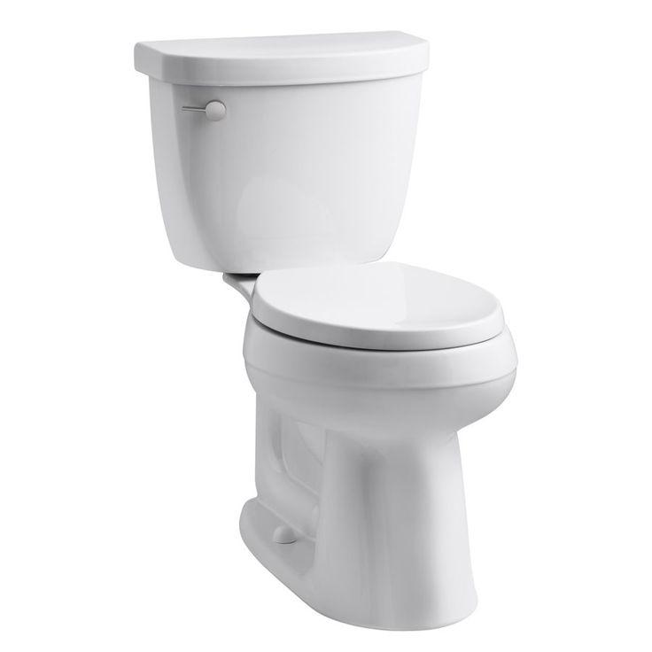 Kohler 98976 0 Cimarron White 1 28 Gpf 4 85 Lpf 12 In