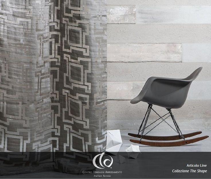 LINE // Line è un tessuto dal carattere deciso e raffinato, per uno stile moderno e alla moda, disponibile nelle nuance del grigio, bianco, tortora e fumo. #Collezione #TheShape #Tessuto #Line #tessuti #interiordesign #tendaggi #textile #textiles #fabric #homedecor#homedesign #hometextile #decoration Visita il nostro sito www.ctasrl.com e scarica le nostre brochure su:http://bit.ly/1nhrLQM