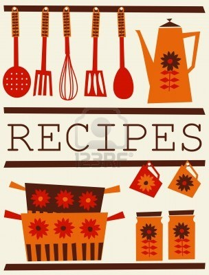 13584893-illustration-of-kitchen-accessories-in-retro-style-recipe-card-design.jpg (304×400)