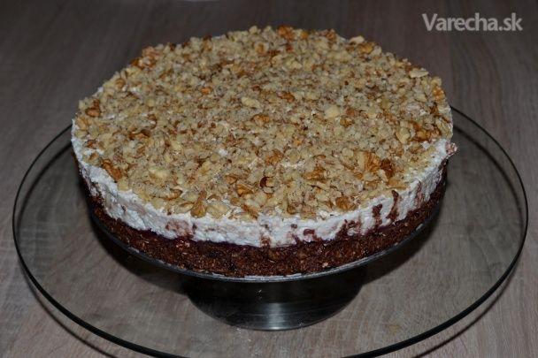 Nepečená diétna torta bez múky (fotorecept)