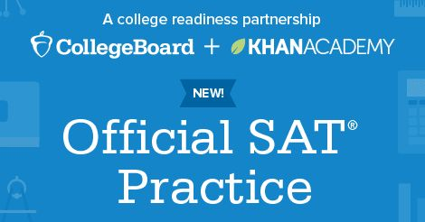 Check out Official SAT Practice on Khan Academy