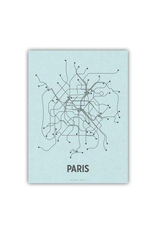 Line Posters Paris 18