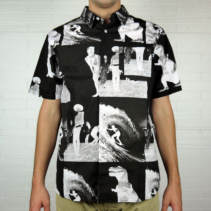 "STUSSY REVERSE PHOTO SHIRT ""BLACK"" 