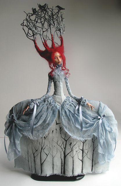 Incredible art doll