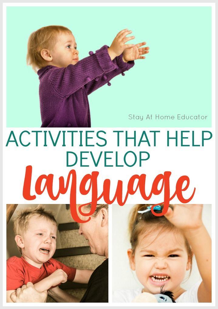 Preschool Developmental Skills And Support Activities Language Development Activities Preschool Literacy Literacy Activities Preschool