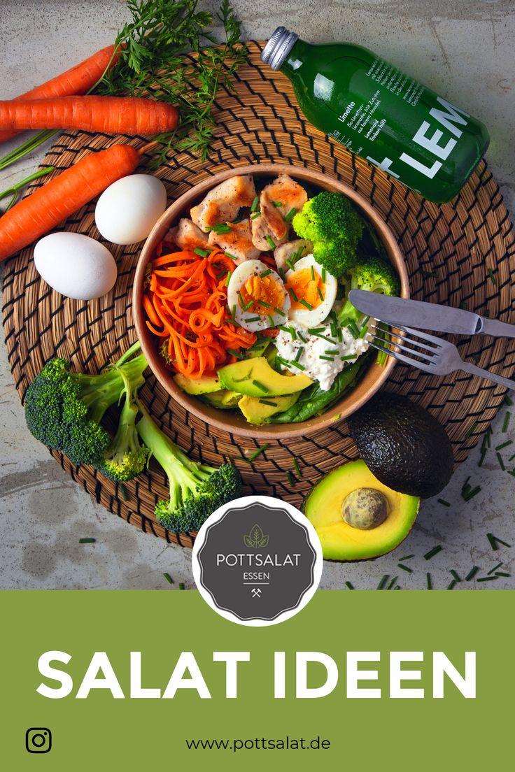 Salat frisch bestellen Salat Salat, Salatrezepte, Salat einfach, Salat id …   – Pottsalat.de – Salat frisch bestellen