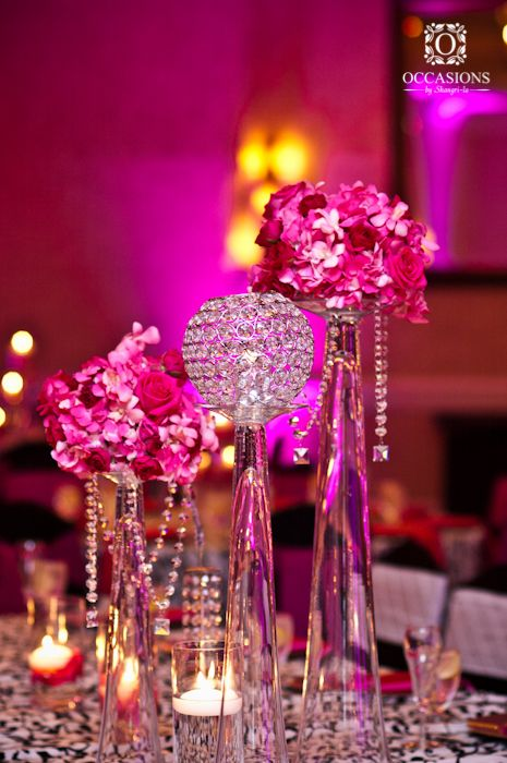 17 best crystal centerpieces images on pinterest event decor occasions by shangri la a full service event decor and floral company based out of orlando creates gorgeous centerpieces for receptions weddings junglespirit Images