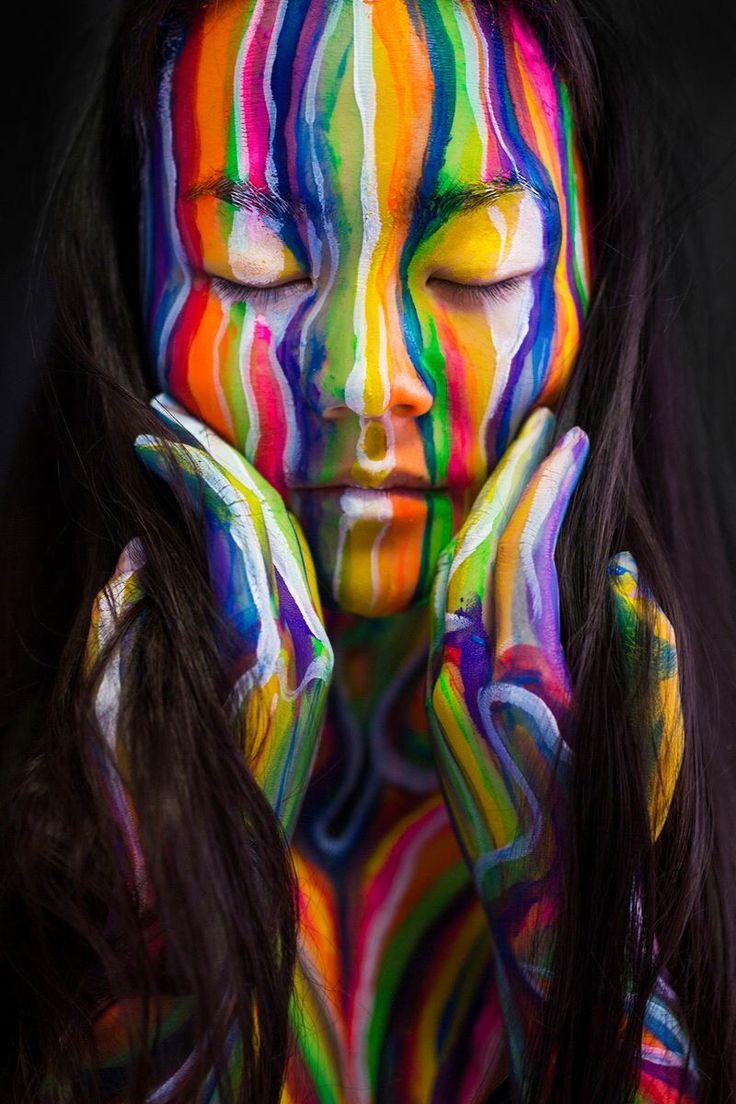 280 besten face paint art bilder auf pinterest malerei gesichter und gesicht. Black Bedroom Furniture Sets. Home Design Ideas