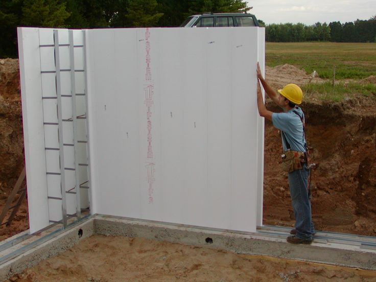 Thermoform icf building system dream home for Insulated concrete form construction