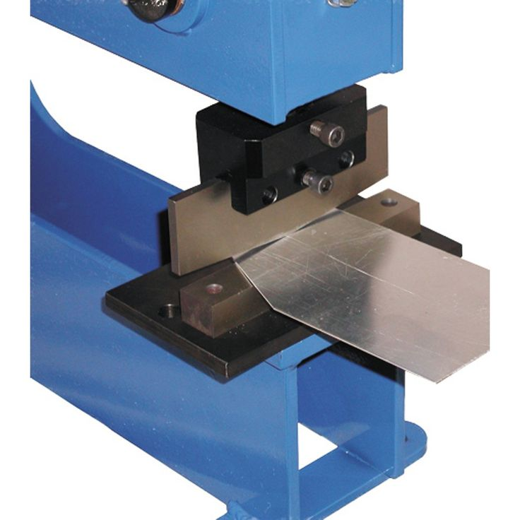 Shear Assembly Bench Press Tooling By Mittler Bros