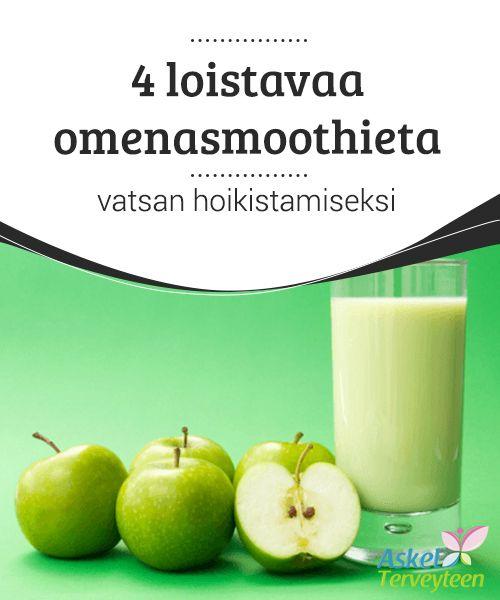 4 loistavaa omenasmoothieta vatsan hoikistamiseksi Kaikilla #omenoilla on eräs yhteinen asia: ne hoitavat ihmisen #terveyttä #tehokkaasti. #Reseptit