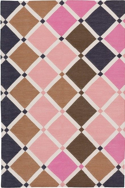 Posy Jana handwoven cotton flatweave carpet from @Madeline Weinrib