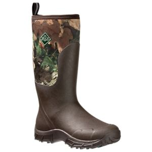 The Original Muck Boot Company Woody Sport II Cool Waterproof Hunting Boots for Men - Brown/Break-Up Country -