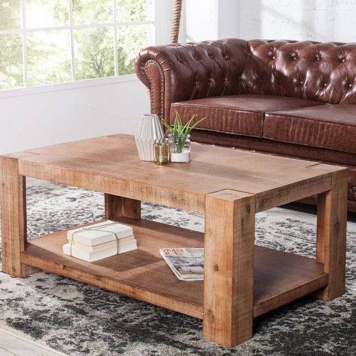 Konferenčný stolík MONTRIAL 100 cm - prírodná
