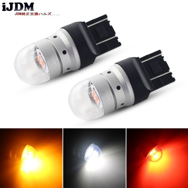 Ijdm P21w Led Bulb T20 Py21w W21w W16w T15 7443 W21 5w 7440 Bau15s Car Light T25 Ba15s Bay15d Drl Auto Lamp 12v 24v Turn Signal Review Car Lights Led Bulb Bulb