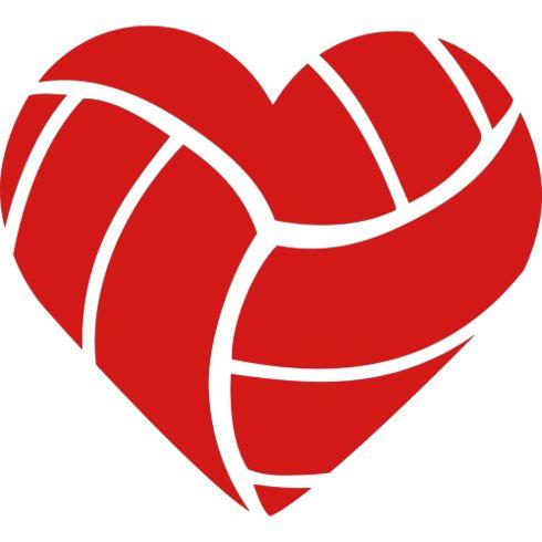Volleyball Heart | T Shirts Design & Design Ideas ...