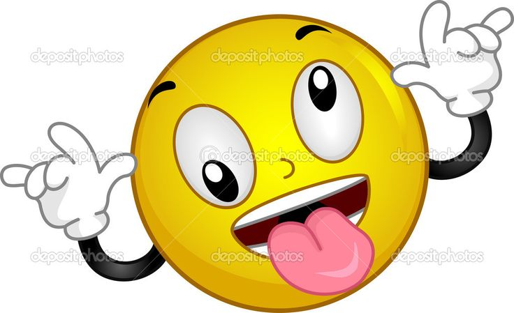 Crazy Face Clip Art | Goofy Smiley | Stock Photo © Lorelyn ...