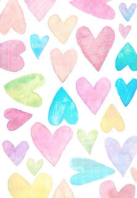 Pastel Heart IPhone Wallpaper