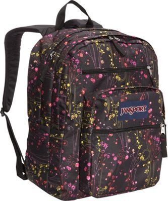 JanSport Big Student Backpack Multi Climbing Ditzy - via eBags.com!