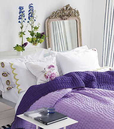 Designers Guild Chenevard silk quilt