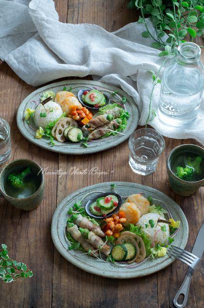 しし唐の肉巻きワンプレート。 |あ~るママオフィシャルブログ「毎日がお弁当日和♪」Powered by Ameba