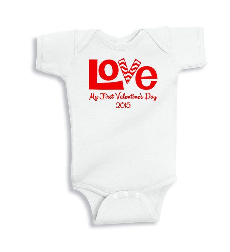 Baby s First Valentine s Day Shirt Valentine s Day