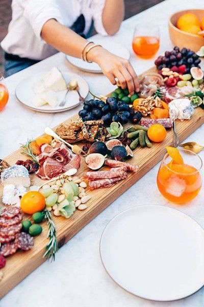 Charcuterie Centerpiece - Thanksgiving Day Tables That Are #Goals - Photos