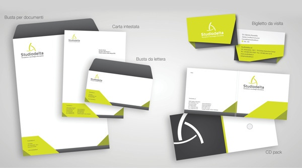 Studiodelta - Restyling by Saverio Giove, via Behance